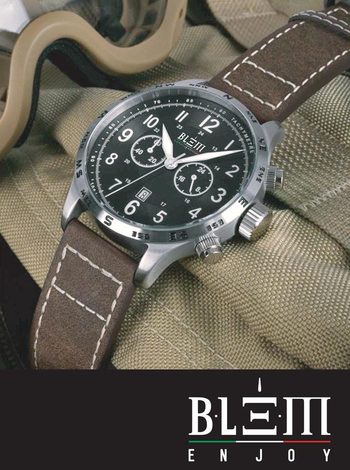 autentico 54eab 0d38f Orologio Blem Enjoy Cronografo Uomo Defender Crono