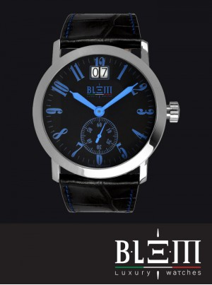 Orologio al quarzo Blem Luxury Watches M8058 Limited Edition CR Blu