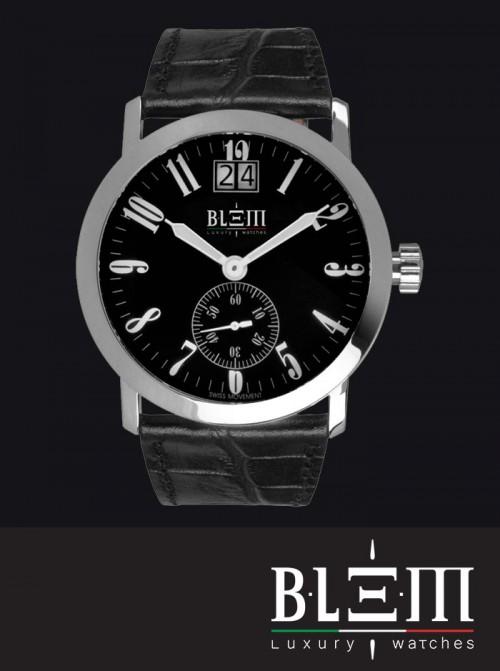 economico per lo sconto 1f6fa 90b35 Orologio al quarzo Blem Luxury Watches M8058 Limited Edition CR Nero