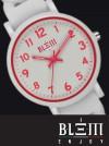 Orologio al Quarzo Donna Blem Enjoy F2304 Bianco e Fucsia