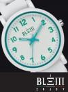 Orologio al Quarzo Donna Blem Enjoy F2304 Bianco e Verde