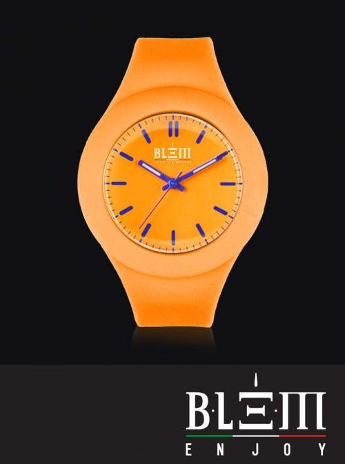 Orologio Solo Tempo Blem Enjoy modello Emoji U5000.03 Arancio